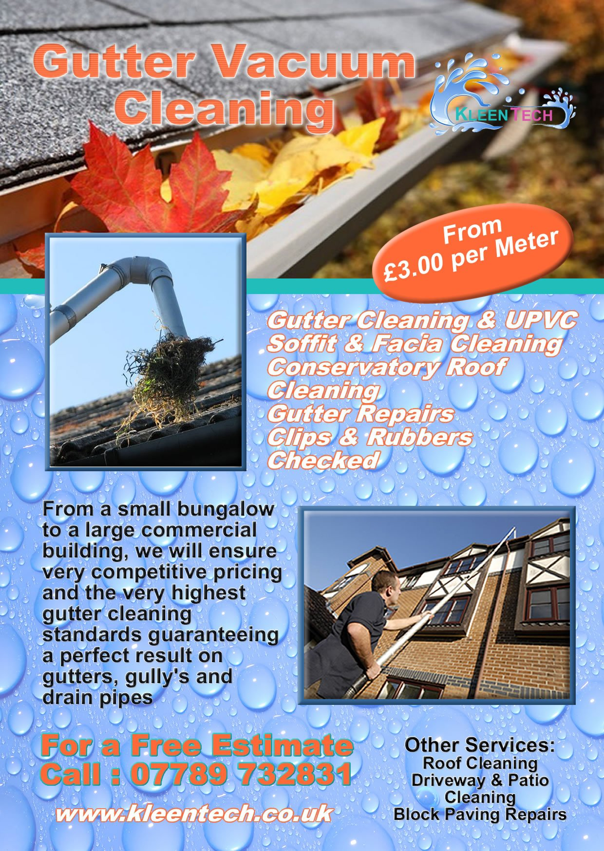 Call Us Today Gutter Cleaning