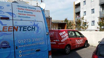 Contac us for gutter cleaning